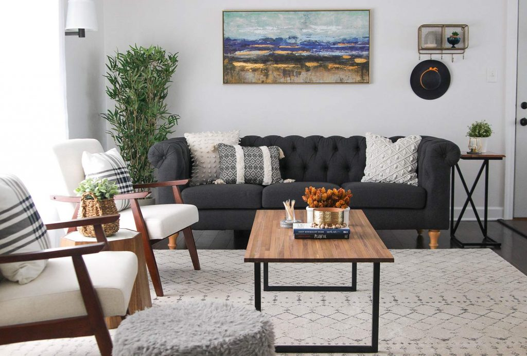 How To Decorate A Tiny Living Room, Decorate Small Living Room